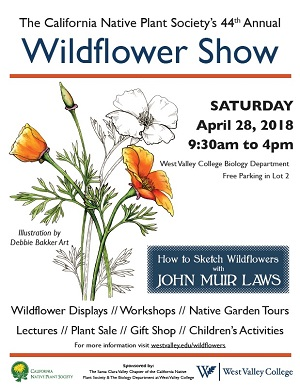 Wildflower Show Sign